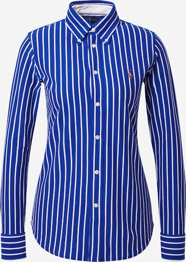 POLO RALPH LAUREN Blouse in Royal blue / White, Item view