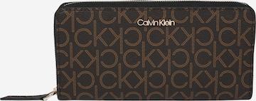 Calvin Klein Portemonnaie in Braun