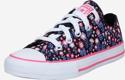CONVERSE Trampki 'CTAS OX' w kolorze jasnoniebieski / ciemnofioletowy / różowy pudrowy / czarnym, Podgląd produktu