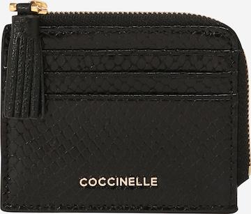 Coccinelle Plånbok 'TASSEL SNAKE' i svart