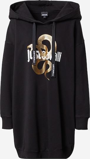 Just Cavalli Sweat-shirt en or / noir / blanc, Vue avec produit
