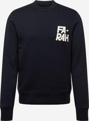 FARAH Sweatshirt in Blue