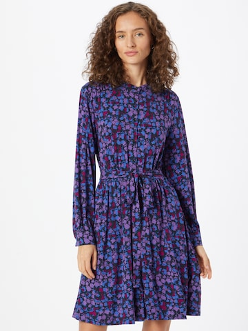 FRENCH CONNECTION Shirt Dress 'BETHANIE MEADOW' in Blue