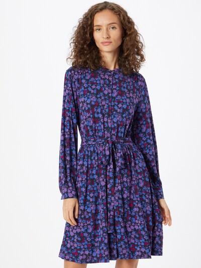 FRENCH CONNECTION Kleid 'BETHANIE MEADOW' in blau / marine / lila / beere, Modelansicht