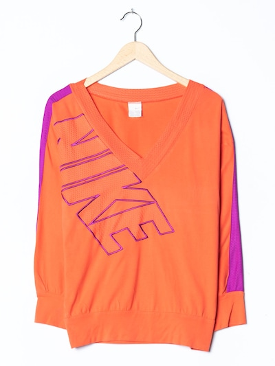NIKE Sweatshirt in M/L in neonorange, Produktansicht