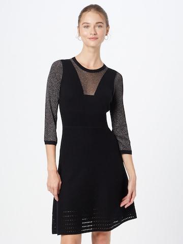 PINKO Gebreide jurk in Zwart