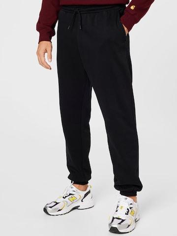 Pantaloni 'Sebbe' de la WEEKDAY pe negru