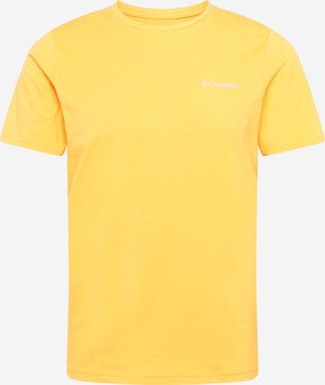 COLUMBIA Funktsionaalne särk 'Sun Trek', värv kollane