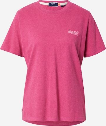 Superdry Skjorte i rosa