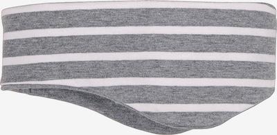 MAXIMO Muts in de kleur Grijs gemêleerd / Wit, Productweergave