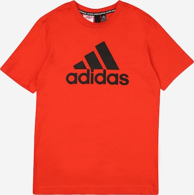 ADIDAS PERFORMANCE Sportshirt 'BOS' in orangerot / schwarz, Produktansicht