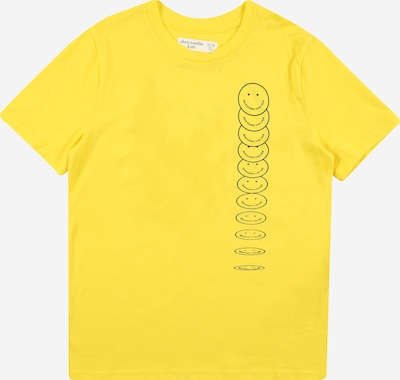 Abercrombie & Fitch T-Shirt in gelb / schwarz, Produktansicht