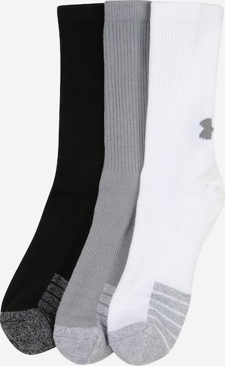 UNDER ARMOUR Sportovní ponožky - šedá / černá / bílá, Produkt