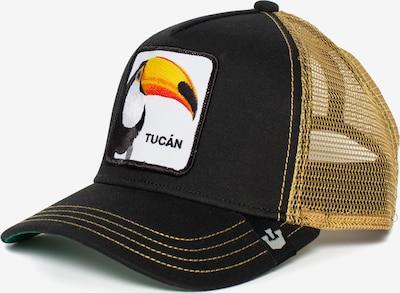 Cappello da baseball 'Tucan' GOORIN Bros. di colore giallo scuro / arancione / nero / bianco, Visualizzazione prodotti