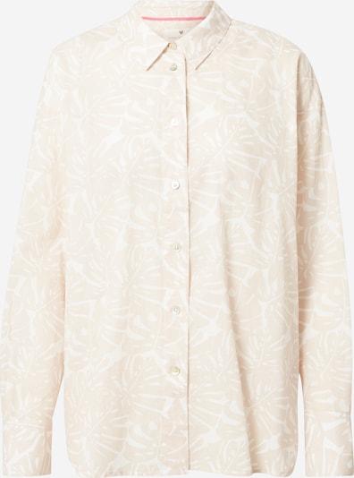 LIEBLINGSSTÜCK Bluza 'Elischa' u bež / bijela, Pregled proizvoda