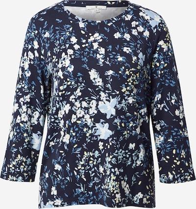 TOM TAILOR Sweatshirt in de kleur Navy / Hemelsblauw / Lichtblauw / Wit, Productweergave
