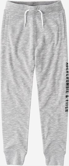 Abercrombie & Fitch Kalhoty - šedý melír / černá, Produkt