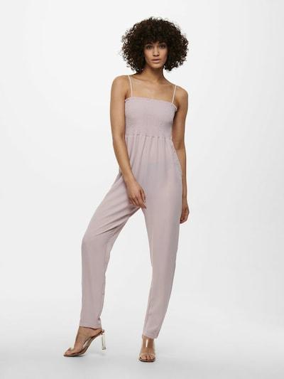 ONLY Combinaison en violet clair, Vue avec modèle