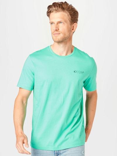 OAKLEY T-Shirt fonctionnel 'INTERSTELLAR' en menthe / noir / blanc: Vue de face