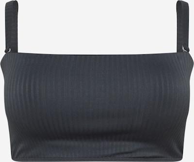 Cotton On Curve Bikinitop in schwarz, Produktansicht