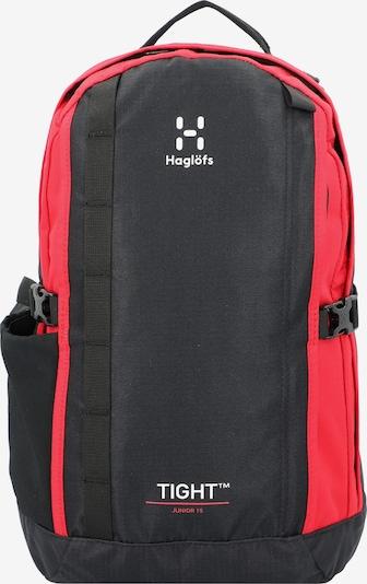 Haglöfs Rucksack in hellrot / schwarz, Produktansicht