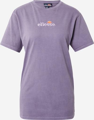 ELLESSE Shirt 'Annatto' in Purple / Orange / White, Item view