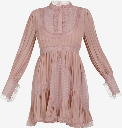 faina Kurzes Sommerkleid in pink: Frontalansicht