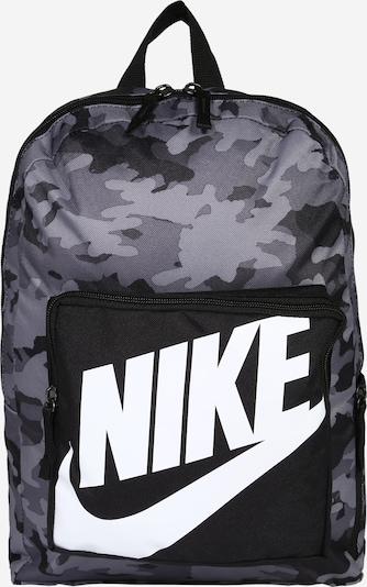Nike Sportswear Ruksak u siva / crna / bijela, Pregled proizvoda