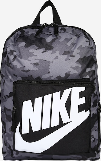 Nike Sportswear Mochila en gris / negro / blanco, Vista del producto