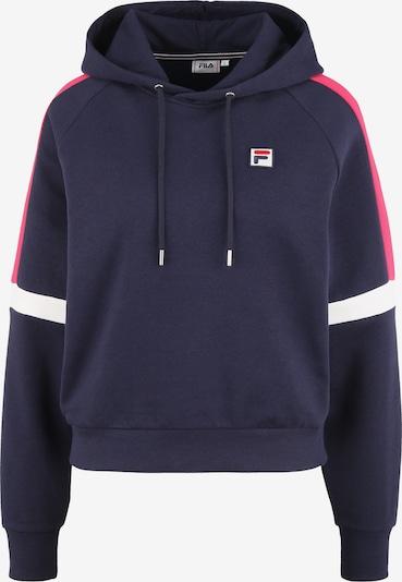 FILA Sweatshirt in Dark blue / Pitaya / White, Item view