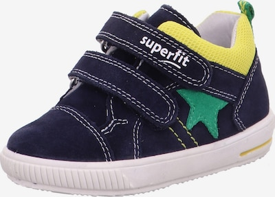 SUPERFIT Sneakers 'MOPPY' in Navy / Yellow / Green, Item view