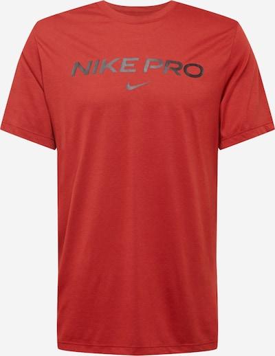 Tricou funcțional NIKE pe roșu / negru, Vizualizare produs