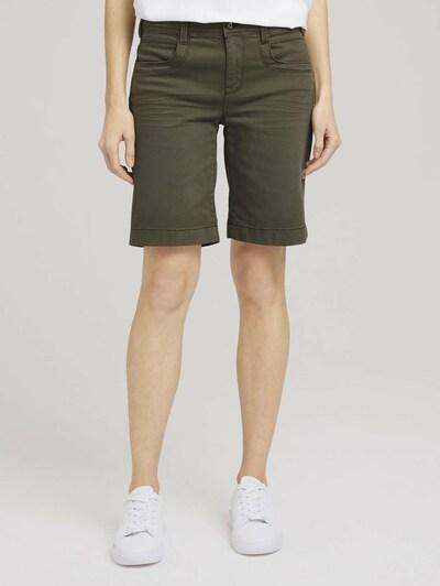 TOM TAILOR Jeans in de kleur Kaki: Vooraanzicht