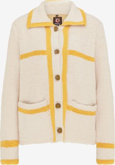 Giacchetta taddy di colore crema / giallo, Visualizzazione prodotti