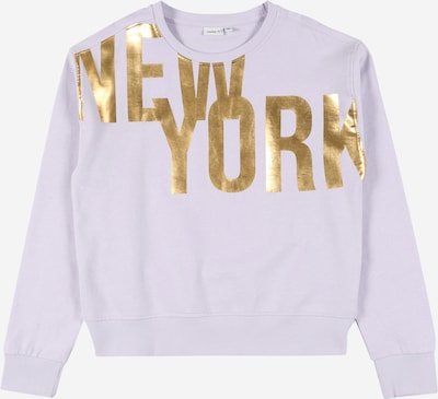 NAME IT Sweat-shirt en or / lilas, Vue avec produit