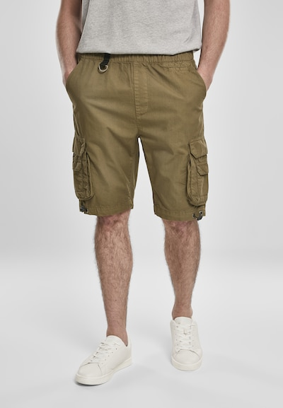 Urban Classics Cargo trousers in olive, View model