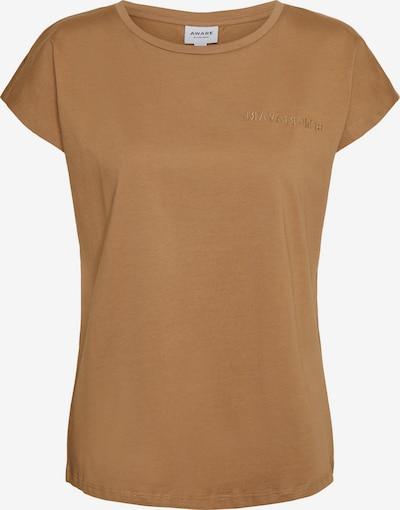 AWARE by Vero Moda T-Shirt 'Edin' in hellbraun, Produktansicht
