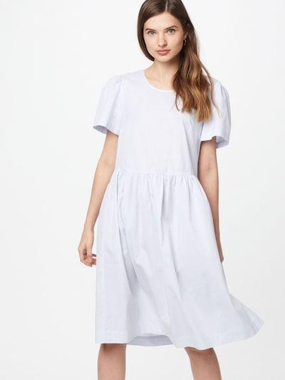 Designers Remix Kleid 'Umbria' in azur / offwhite, Modelansicht