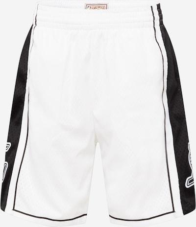 Pantaloni Mitchell & Ness pe negru / alb, Vizualizare produs