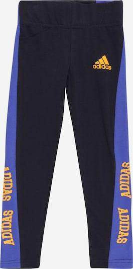 ADIDAS PERFORMANCE Sporthose en royalblau / gelb / schwarz, Vue avec produit
