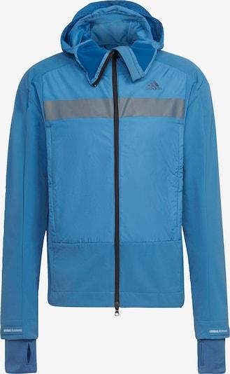ADIDAS PERFORMANCE Jacke in blau / grau, Produktansicht