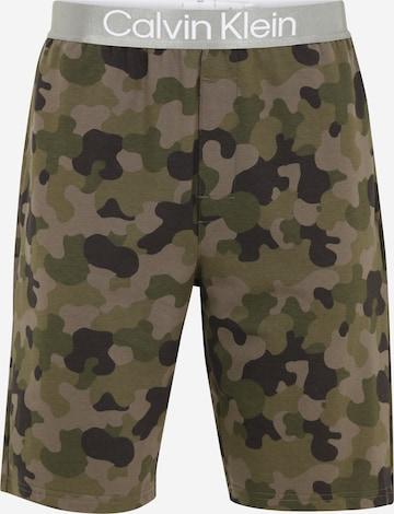 Calvin Klein Underwear Pidžaamapüksid, värv roheline