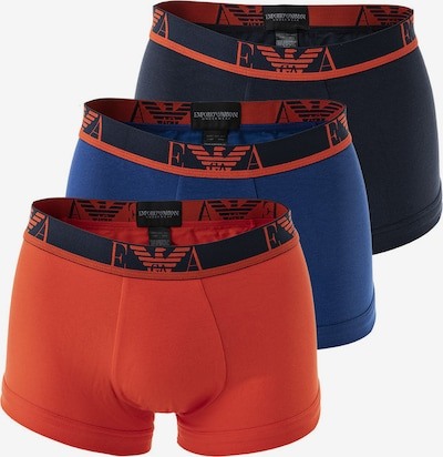Emporio Armani Boxershorts in de kleur Nachtblauw / Royal blue/koningsblauw / Rood, Productweergave