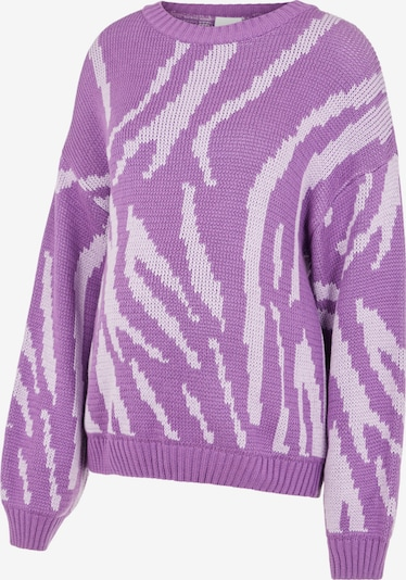 MAMALICIOUS Pullover 'Rina' in helllila / weiß, Produktansicht