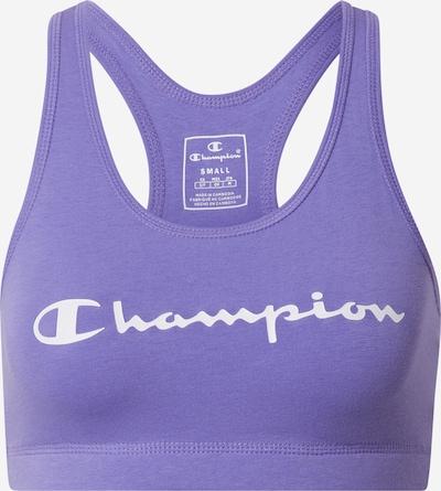 Champion Authentic Athletic Apparel Soutien-gorge de sport en lilas / blanc, Vue avec produit