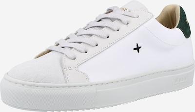 Sneaker low New Lab pe verde închis / alb, Vizualizare produs
