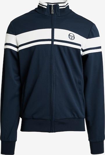 Sergio Tacchini Trainingsjacke 'Damarindo Sweater Archivio' in blau / marine / navy / royalblau / weiß, Produktansicht