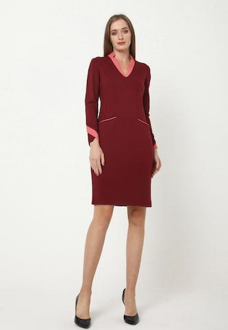 Madam-T Sheath Dress 'KRUTONA' in Red