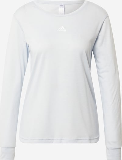 ADIDAS PERFORMANCE T-shirt fonctionnel 'U4U AEROREADY' en blanc perle, Vue avec produit