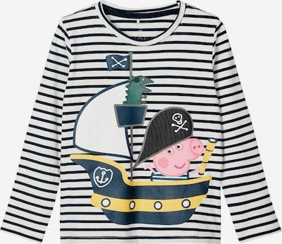 Maglietta 'PEPPAPIG JAKOMAS' NAME IT di colore navy / giallo / rosa / nero / bianco, Visualizzazione prodotti